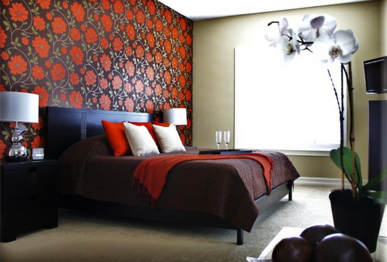bedroom wallpaper border decor decorating decorating ideas houses 1440x974