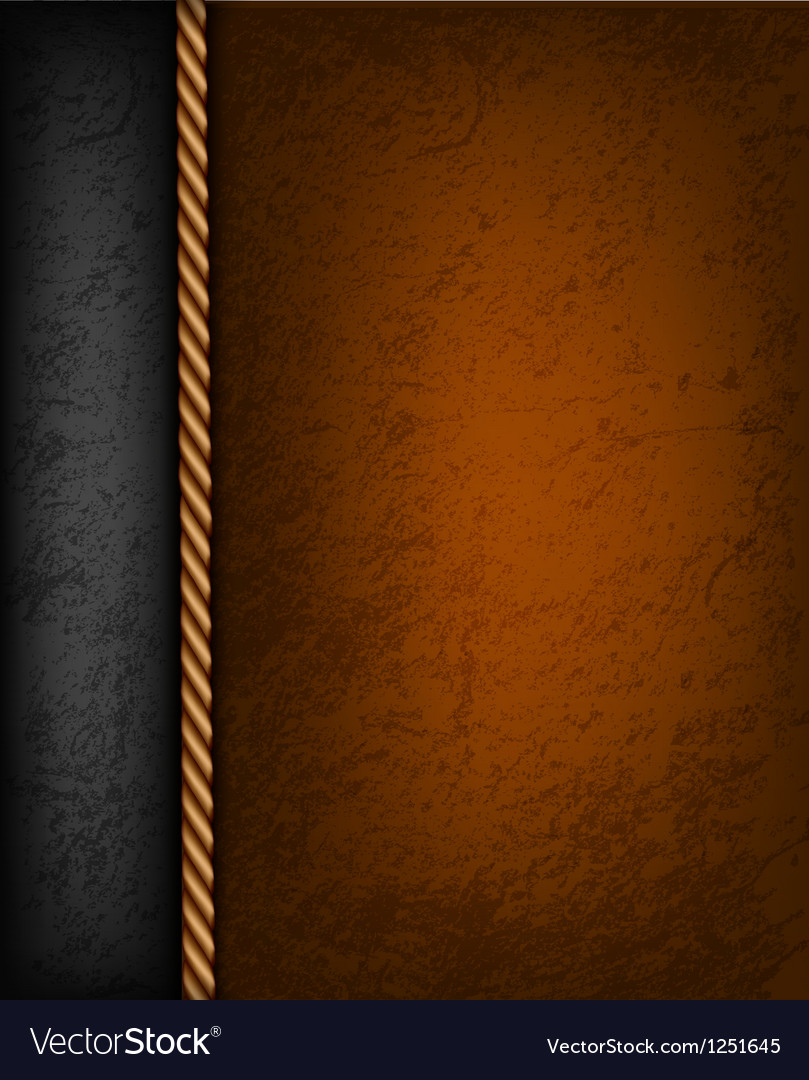 Vintage background with brown and black leather Vector Image 809x1080