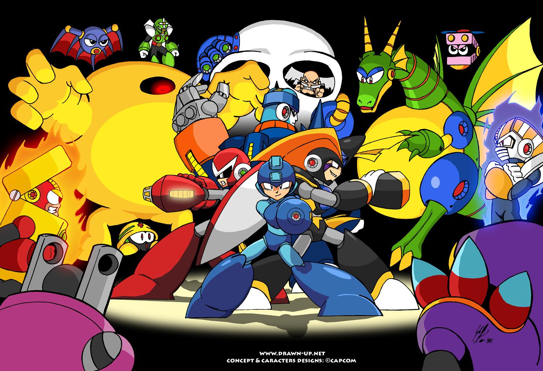 Mega Man IPhone Wallpaper