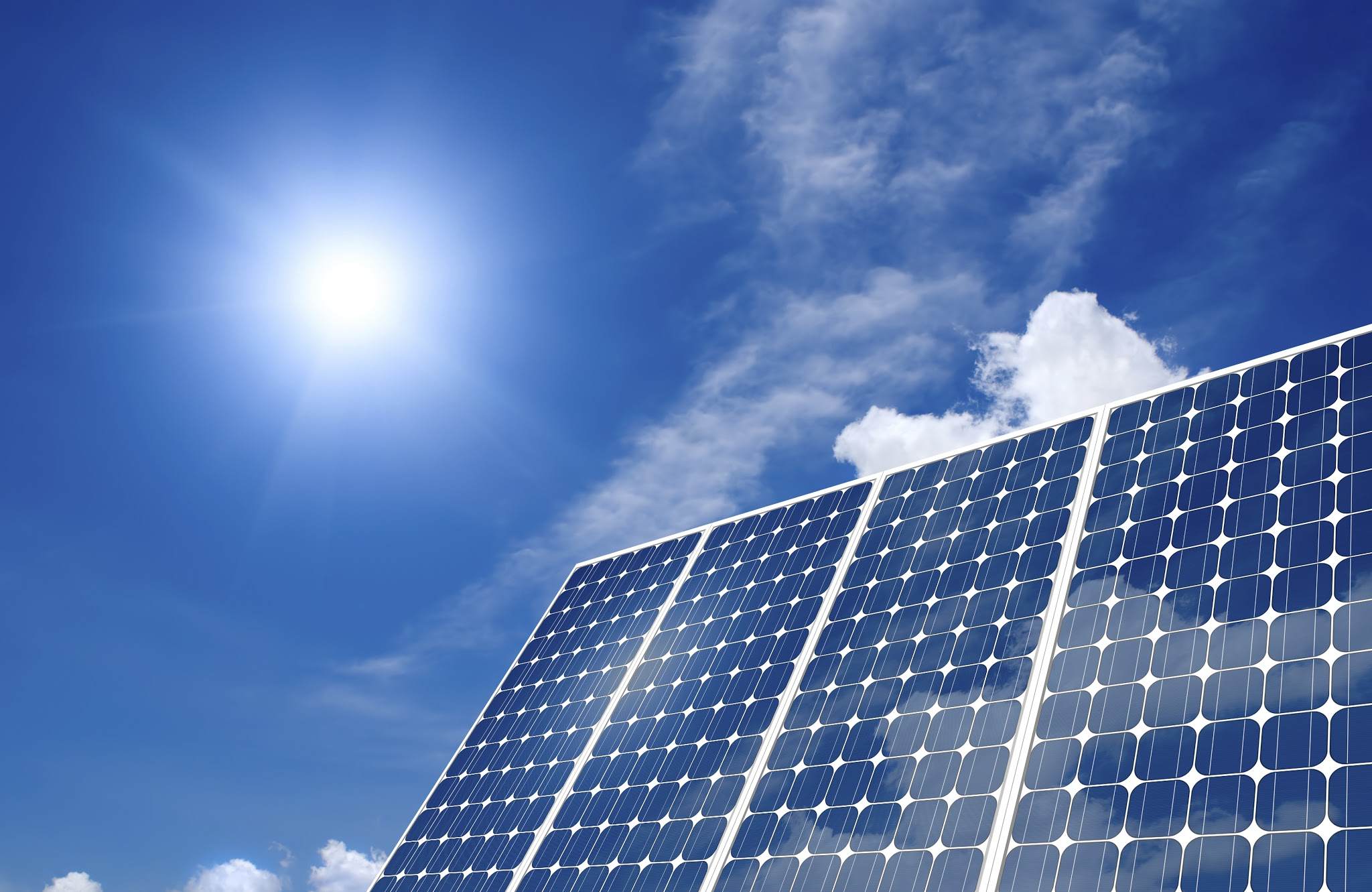 Solar Panels Wallpaper Solar Panel 2048x1331