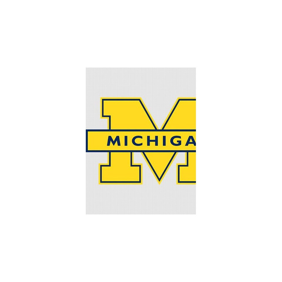 michigan wolverines logo wallpaper   wwwhigh definition wallpapercom 960x960