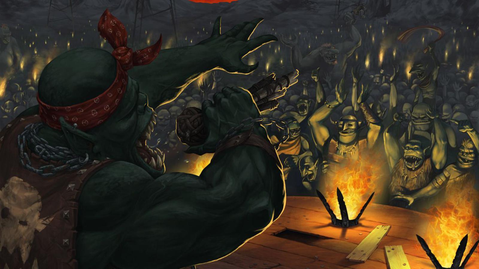 Orc Wallpaper 1600x900