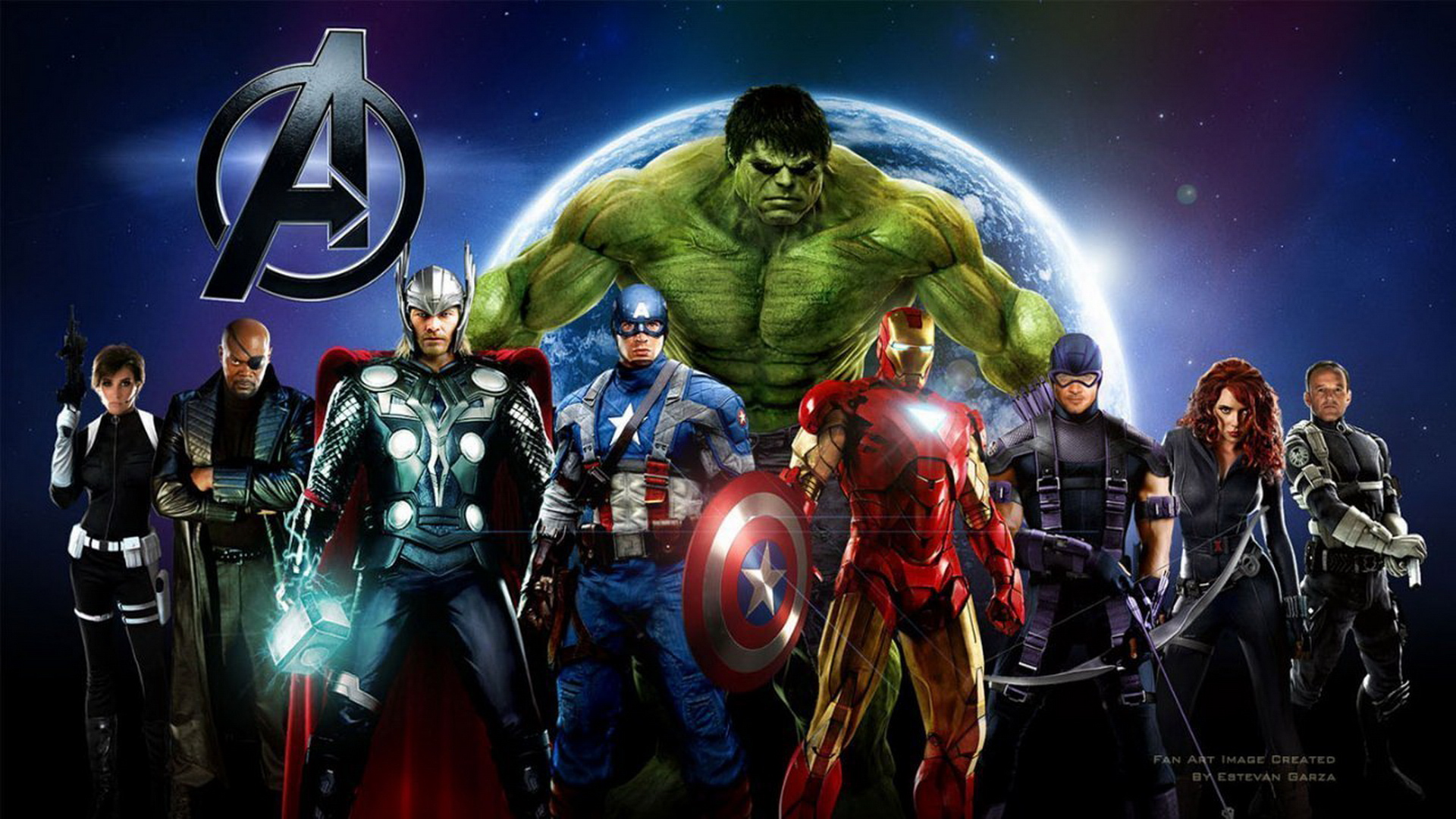 Marvels The Avengers 2012 Wallpaper Heros 4 HD Desktop 1920x1080