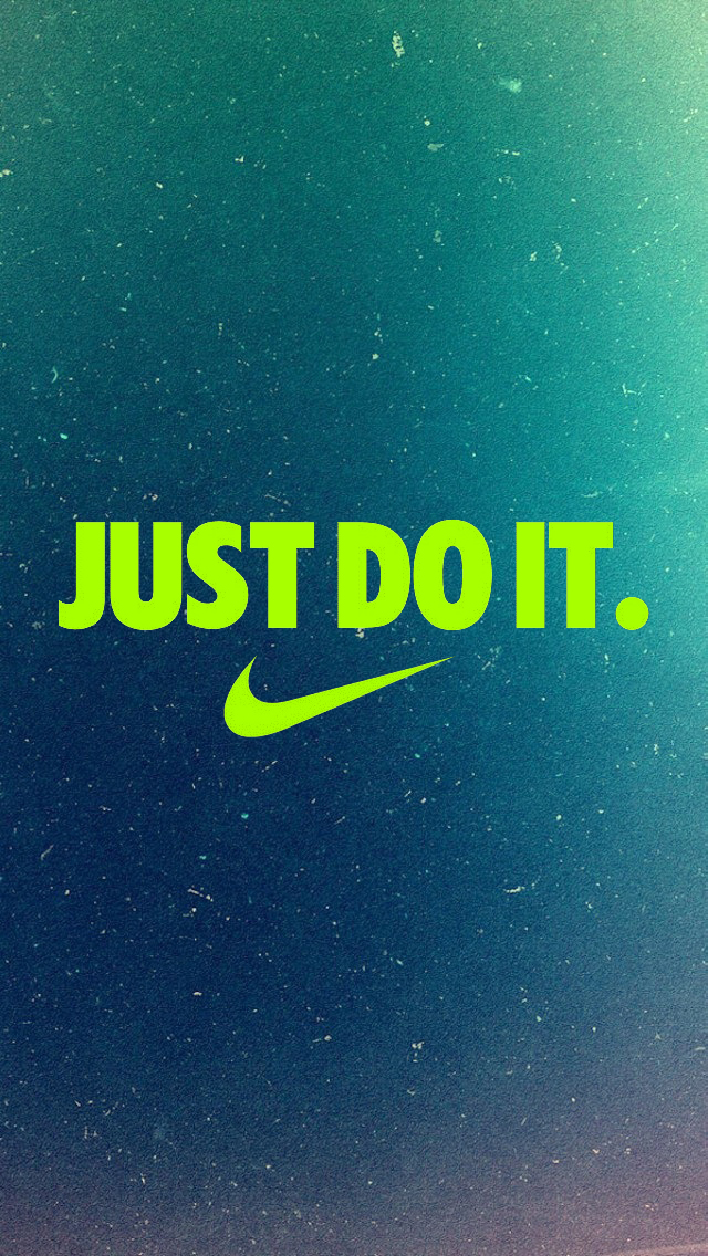 Free Download Just Do It Iphone 5 Wallpaper 640x1136