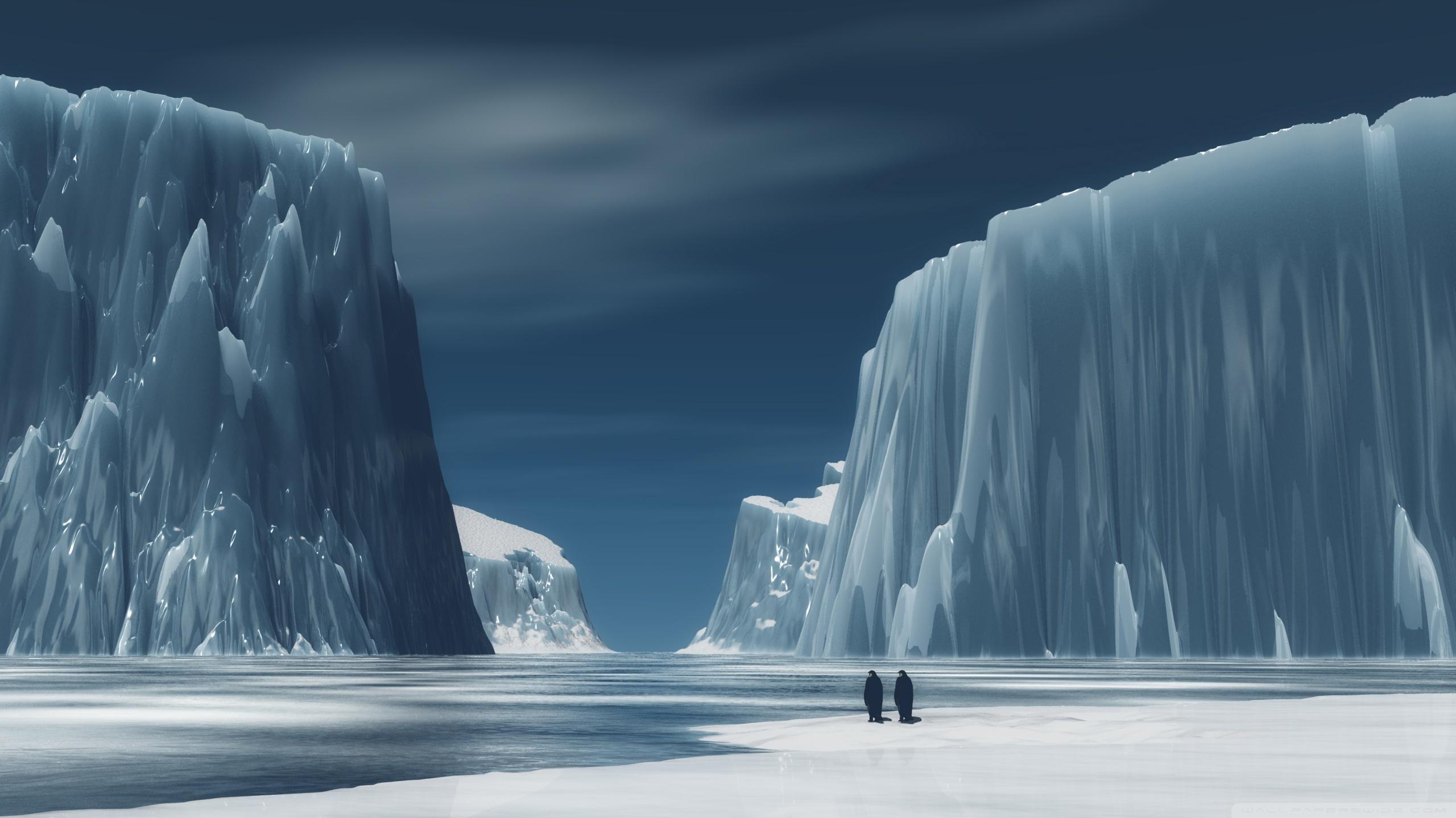 HD Antarctica Background 2560x1440