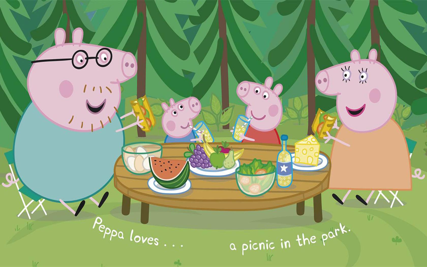 Peppa pig hd wallpaper wallpapersafari