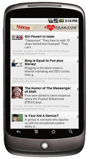 iLuvIslam I Love Islam Screenshot 1 288x512