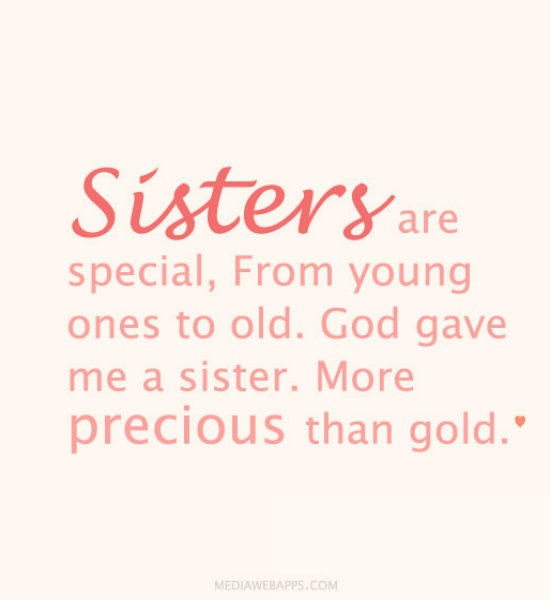 Download Baby Sister Quotes Baby Sister Quotes Sisters Are 550x600
