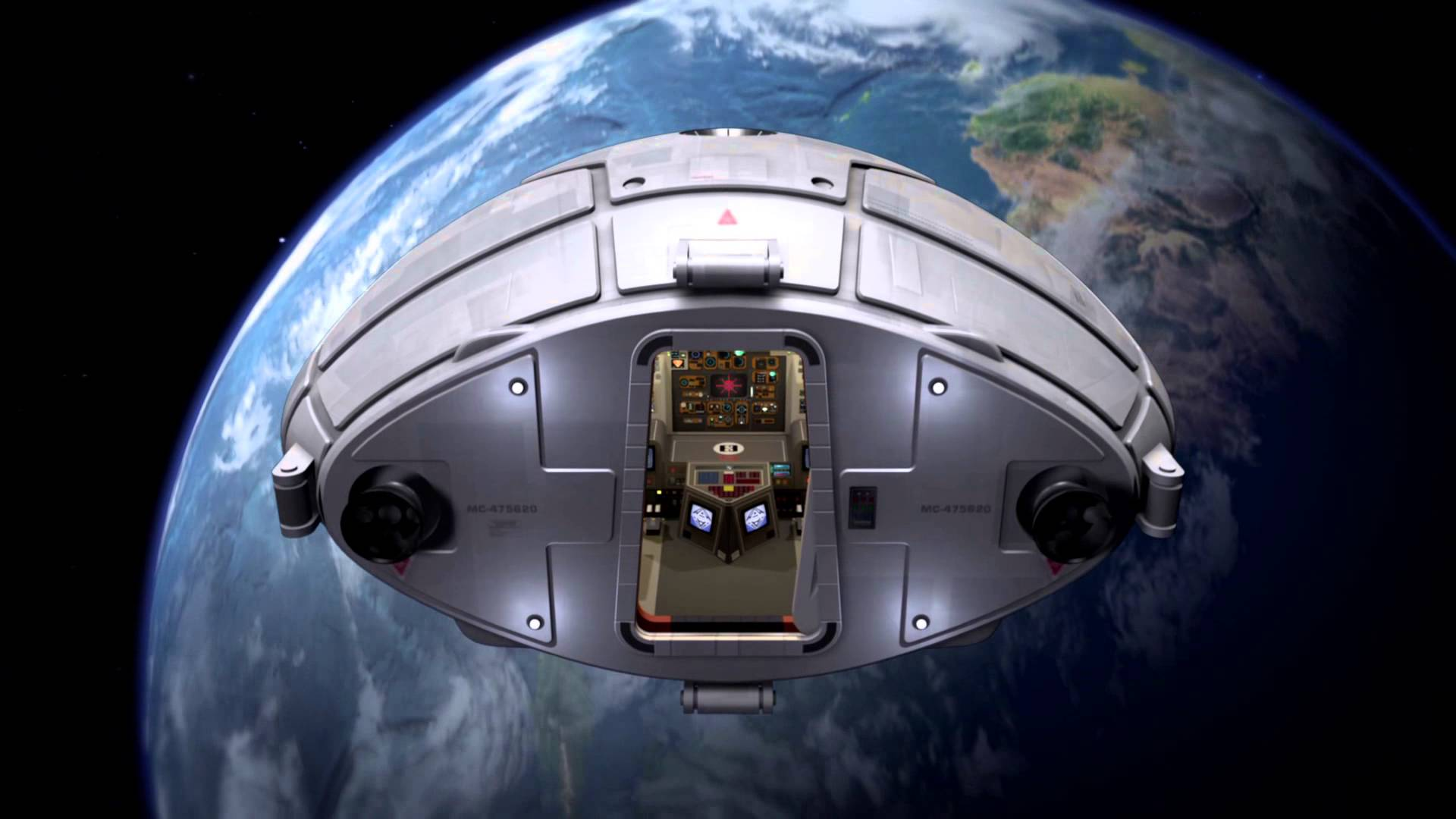 Space 1999 Eagle Command Module 1920x1080