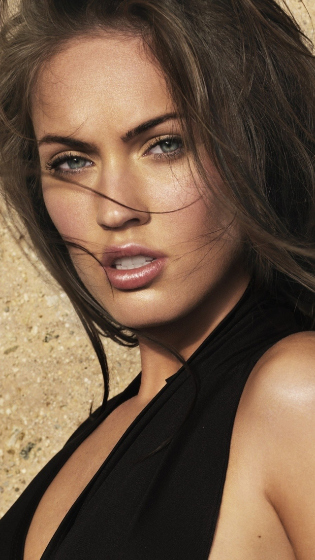 Megan Fox iPhone 5 Wallpaper iPod Wallpaper HD   Download 640x1136