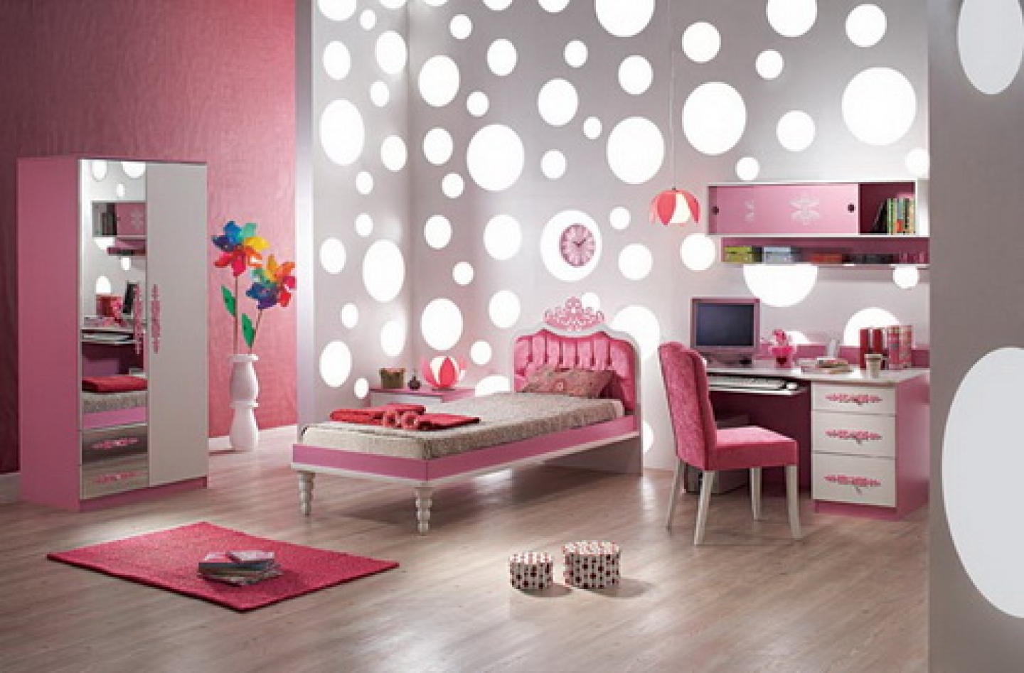 Girls bedroom wallpaper ideas modern girls bedroom wallpaper ideas 1440x947