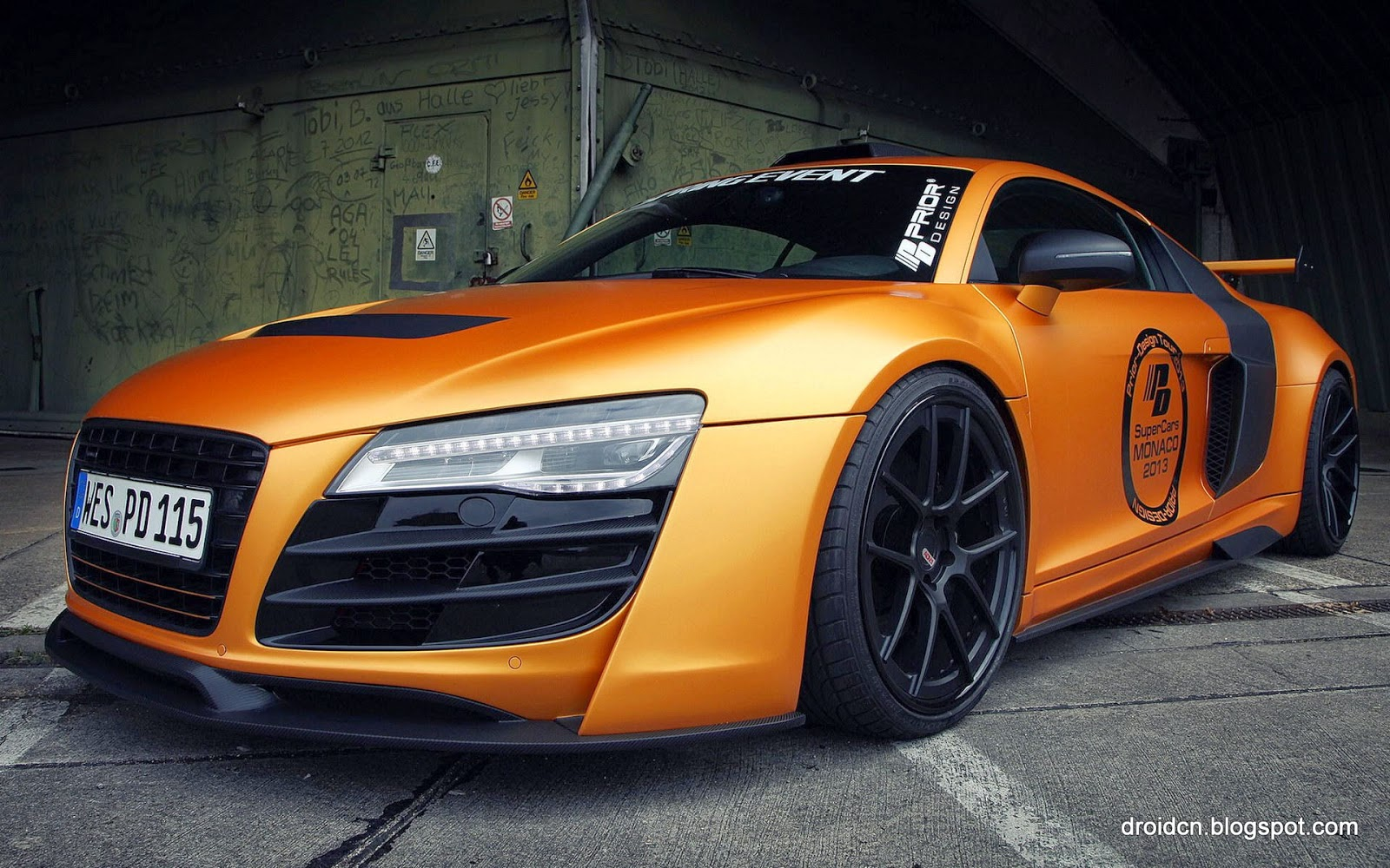 Audi R8 GT850 supercar HD desktop wallpaper | HD Wallpaper