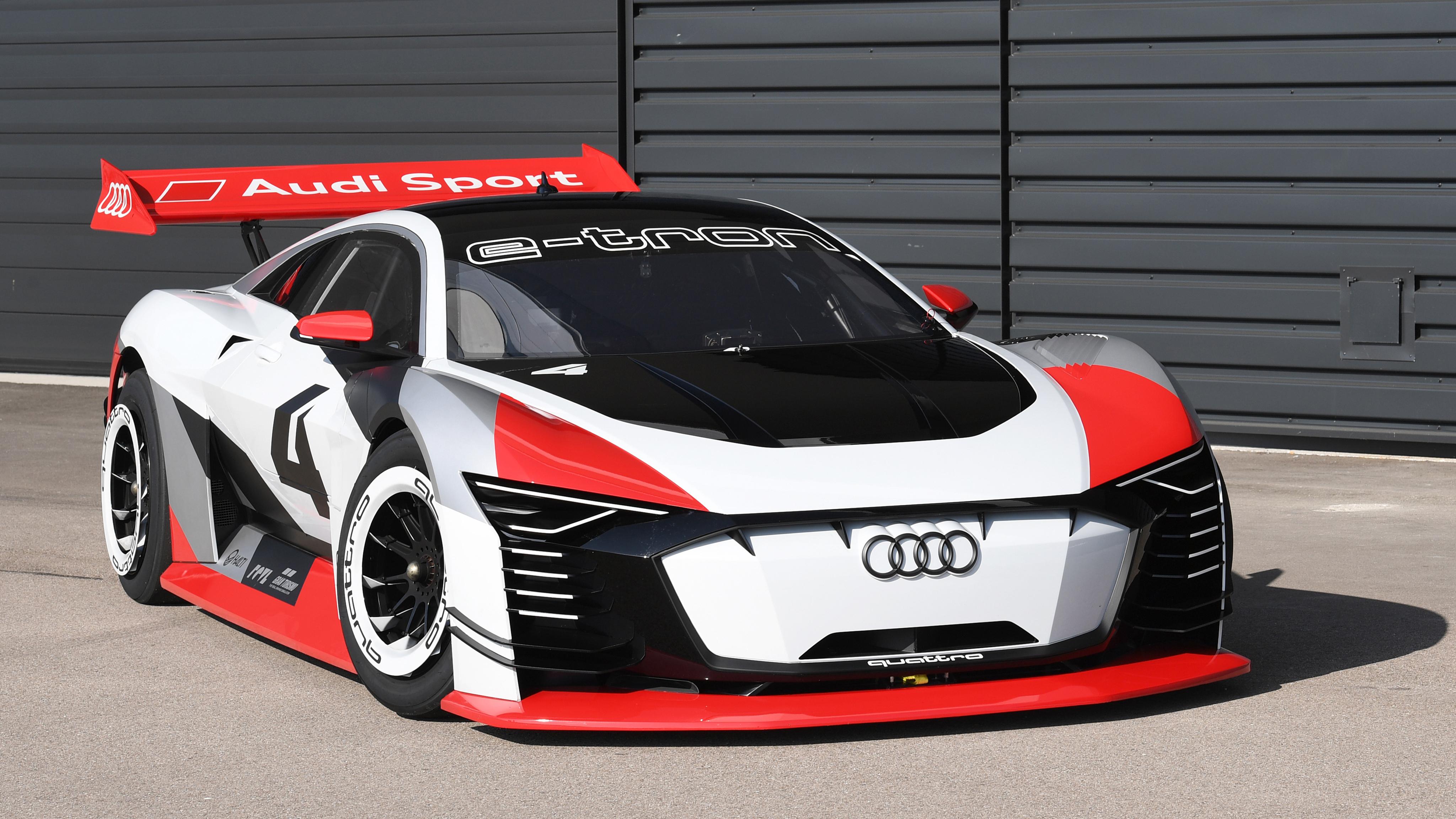 2018 Audi e tron Vision Gran Turismo 4K 3 Wallpaper HD Car 4096x2304