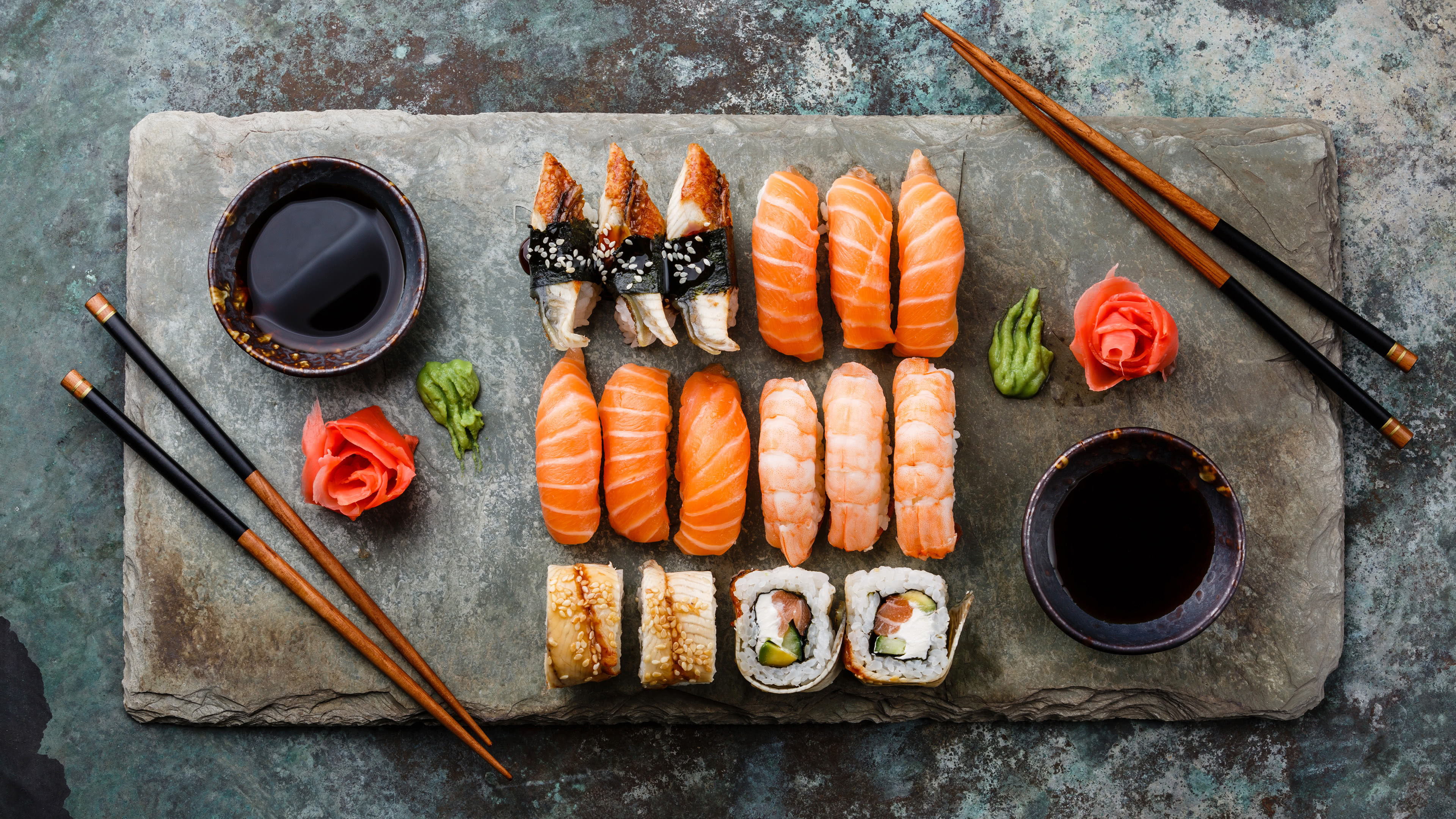 Let us have sushi as wallpaper instead 3840x2160 wallpaper 3840x2160