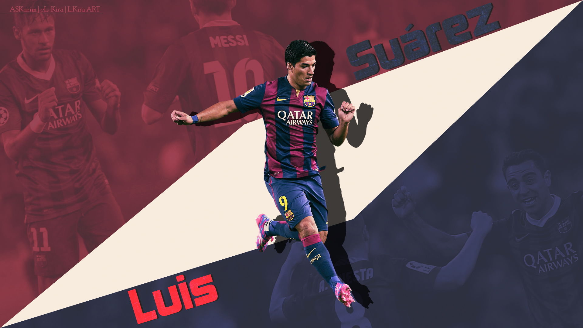 Luis Suarez   Welcome to Barcelona 20142015 by eL Kira on 1920x1080