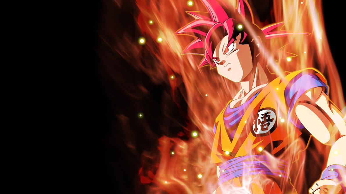 Super Saiyan God Goku Wallpaper by RayzorBlade189 1191x670