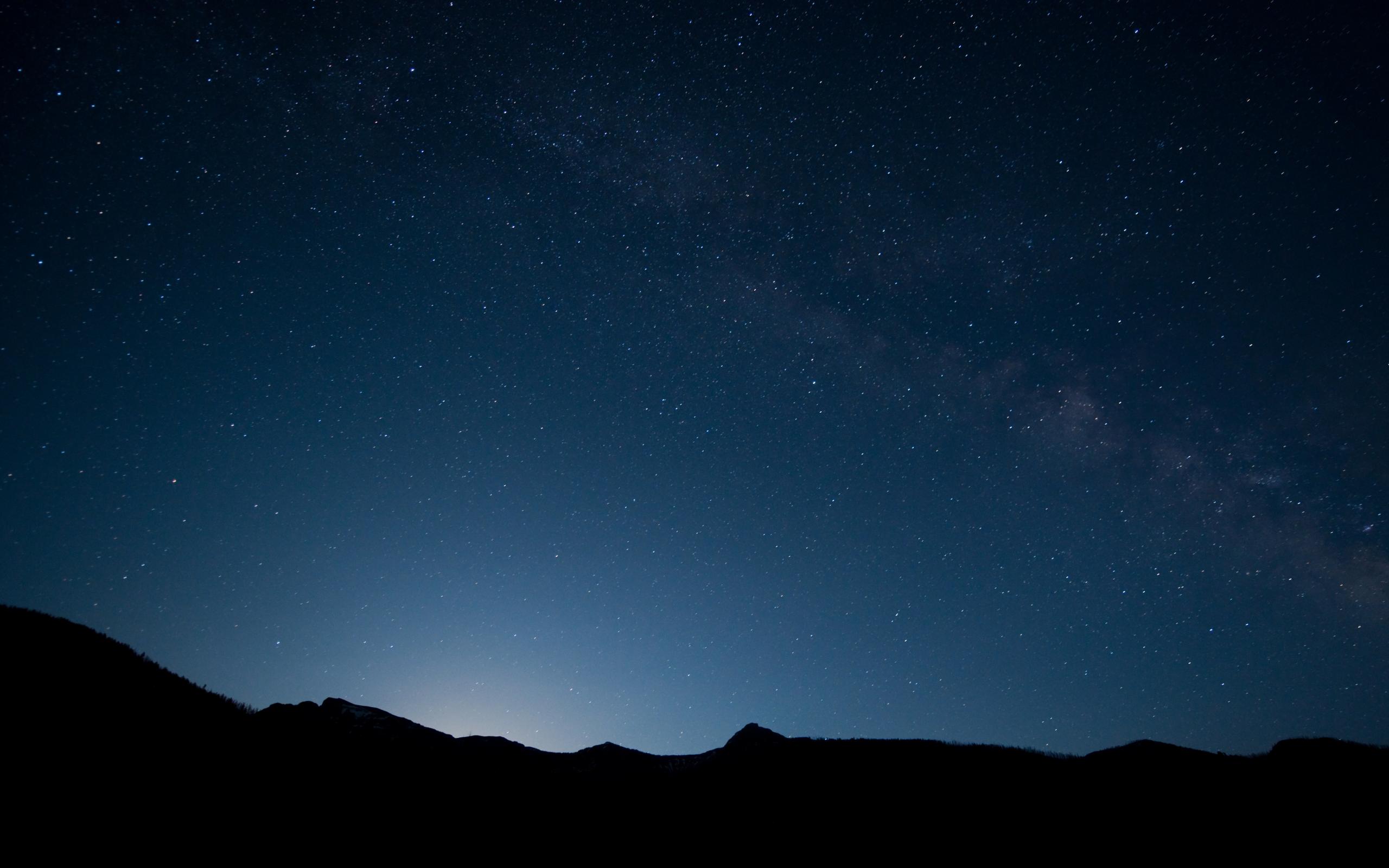 Night Sky Desktop Wallpaper - WallpaperSafari