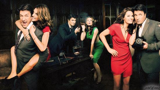 Free download Castle Tv Series Wallpaper 7 [550x309] for