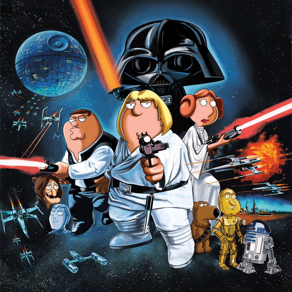 Free Download Ipad 2 Wallpapers Pictures Backgrounds 1024x1024 Family Guy Star Wars 1024x1024 For Your Desktop Mobile Tablet Explore 68 Family Guy Star Wars Wallpaper Family Guy Live Wallpaper