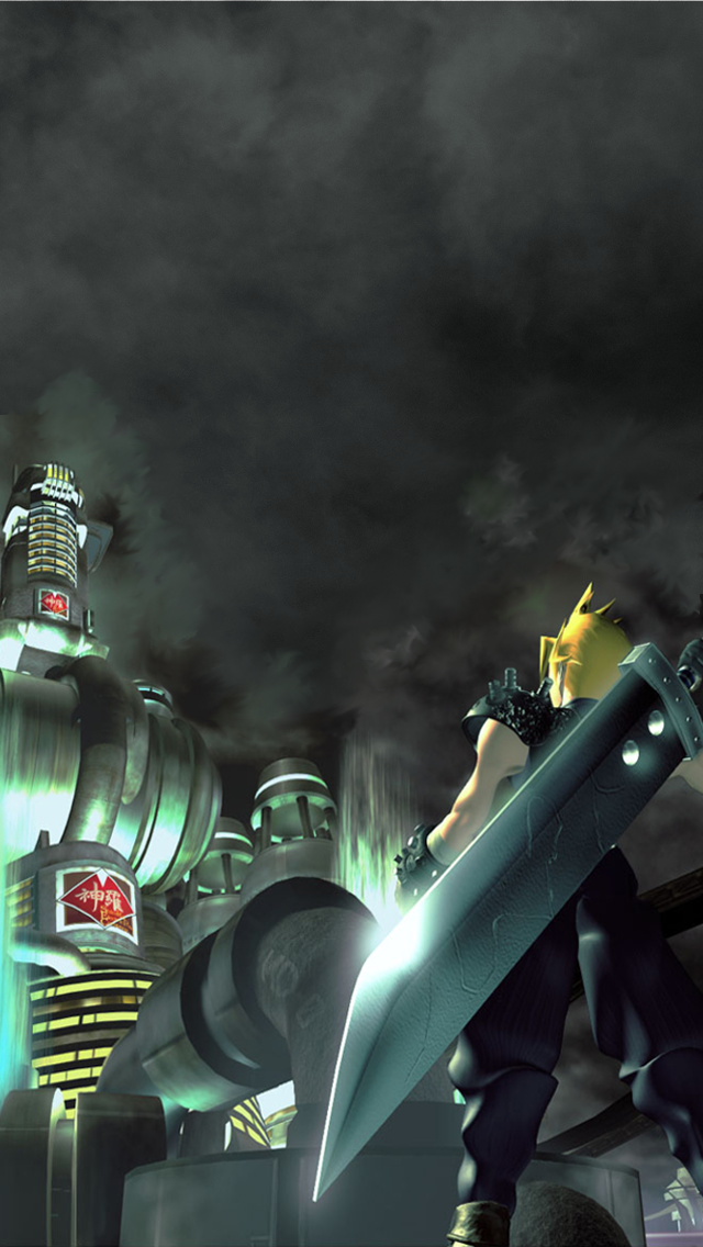 Final Fantasy VII Wallpaper for iPhone 5 by Windschatten69 on 640x1136