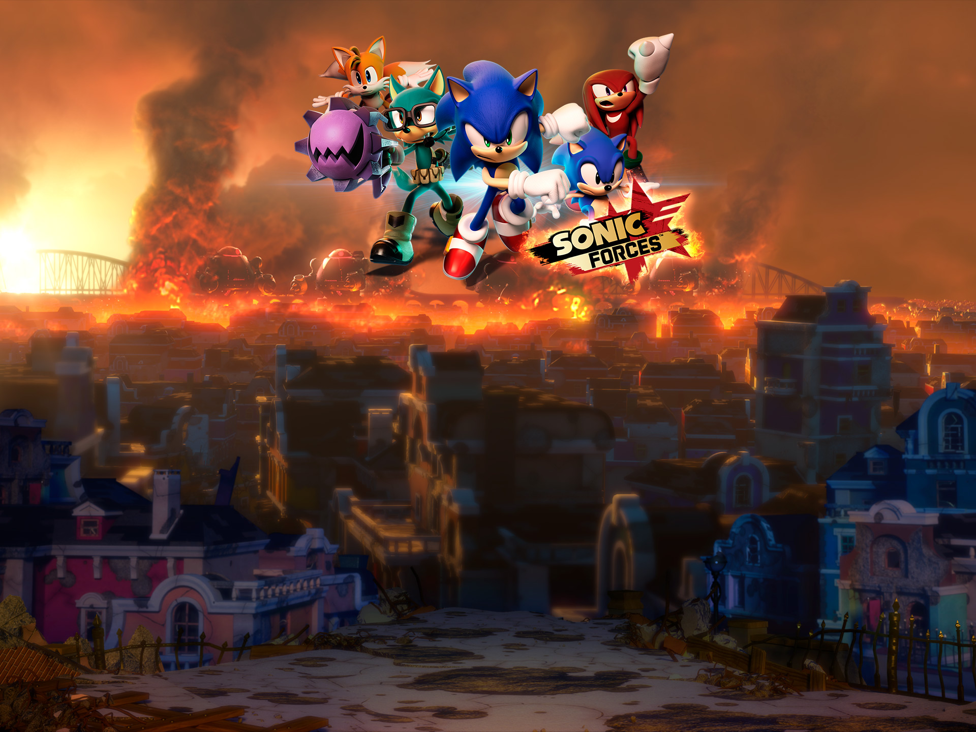 Sonic Forces Wallpapers Wallpapersafari