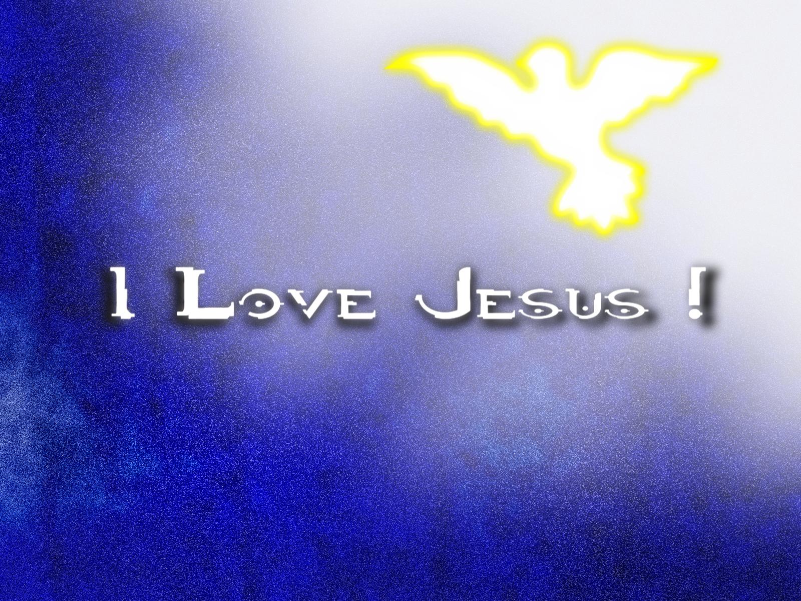 i love hd wallpaper I Love Jesus Wallpaper 1600x1200