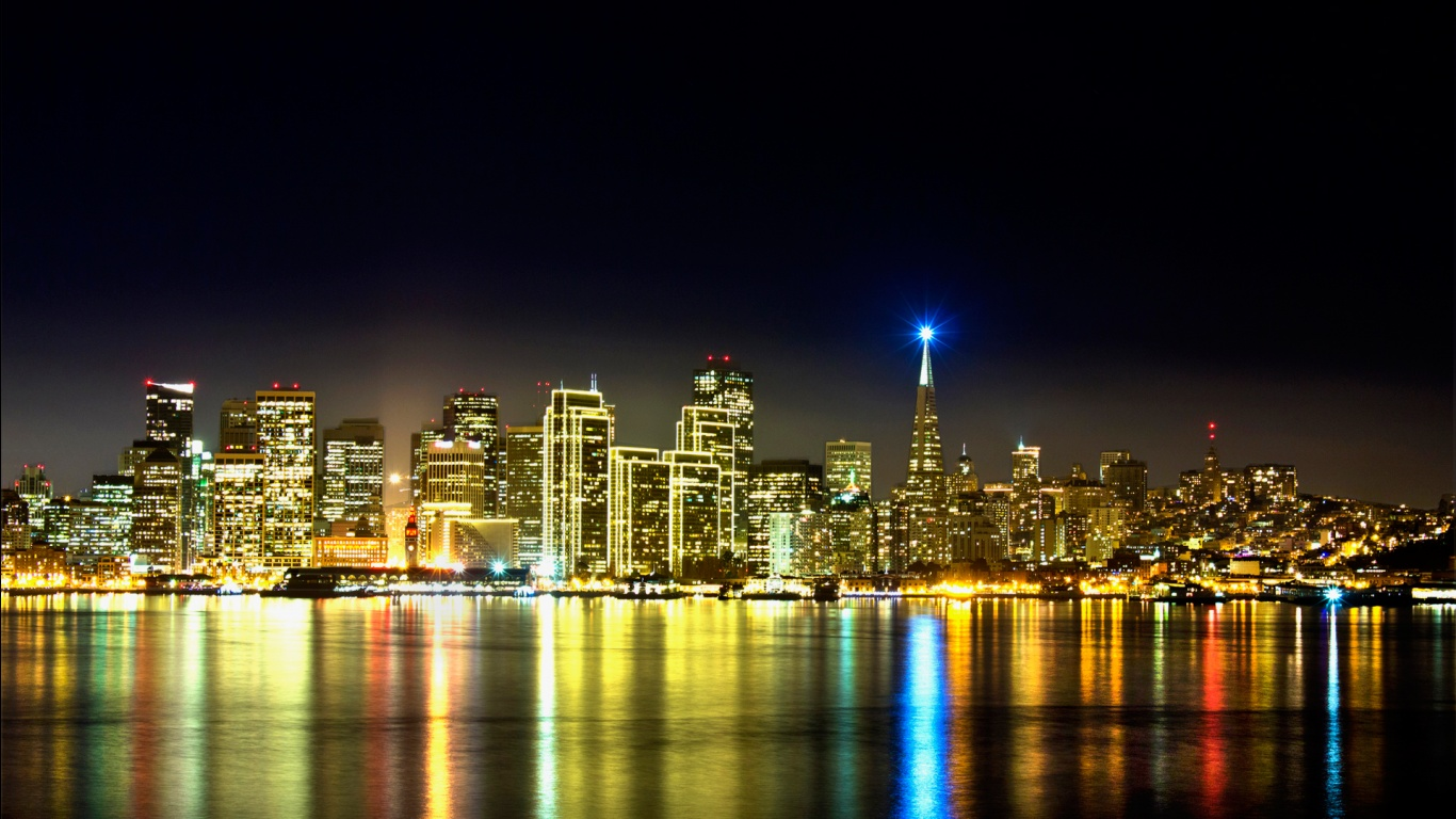 San Francisco Skyline Wallpapers HD Wallpapers 1366x768