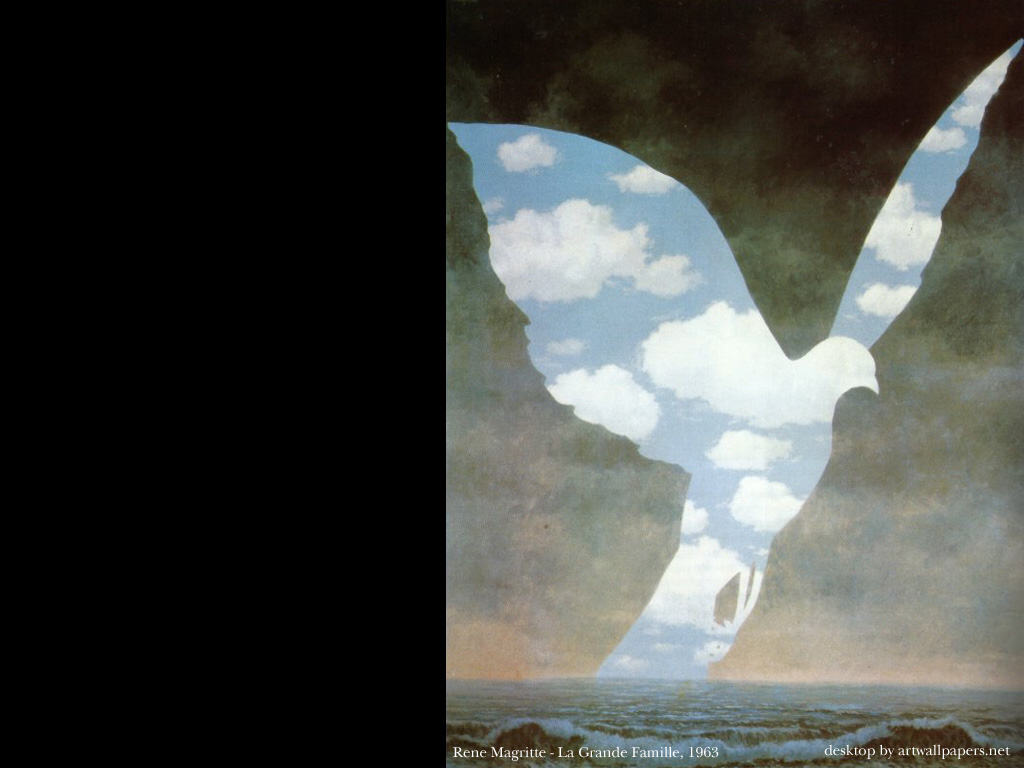Rene Magritte Paintings Poster Prints Art Wallpapers 1024x768