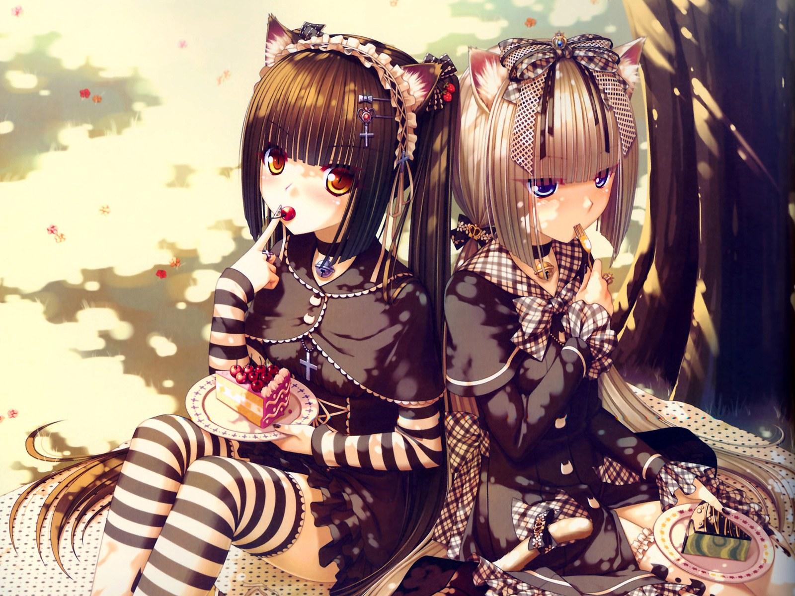 Cute anime girls hd wallpaper wallpapersafari - Anime pretty girl wallpaper ...
