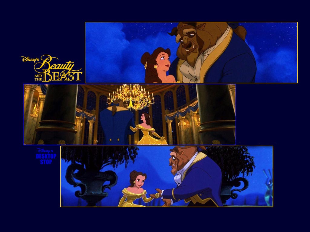 Beauty and the Beast Wallpaper 1024x768