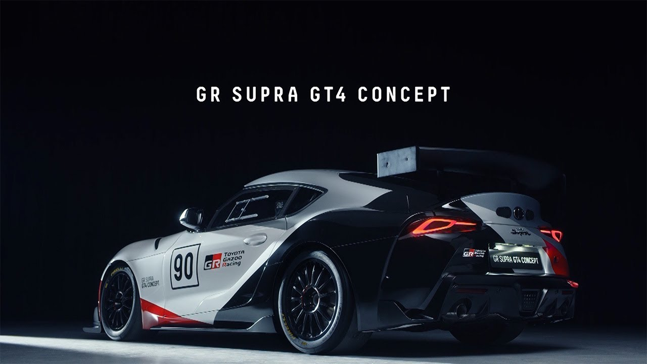 Toyota Presents World Debut of Toyota GR Supra GT4 Concept at 2019 1280x720
