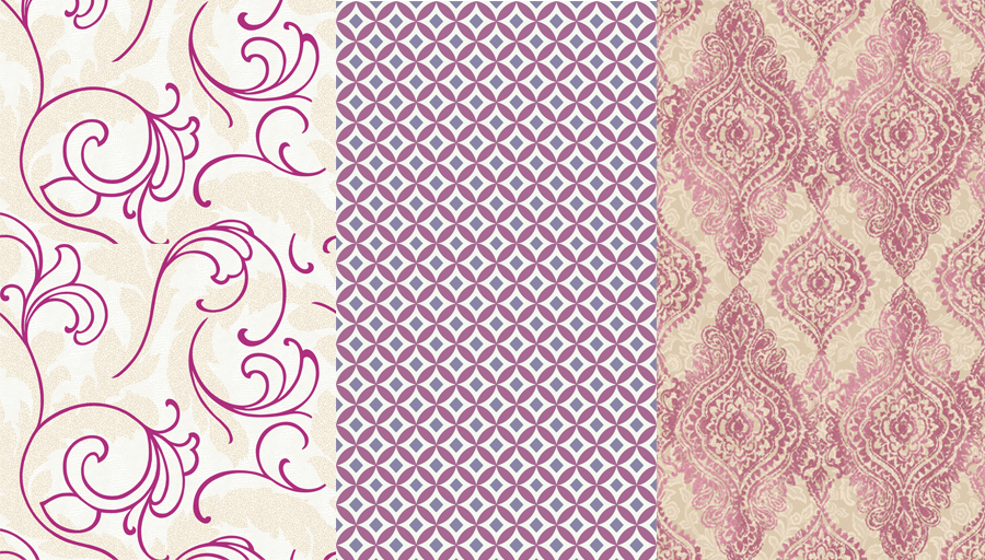 wallpaper design Boho Chic WH2704 also from Yorks WallpapHer 900x512