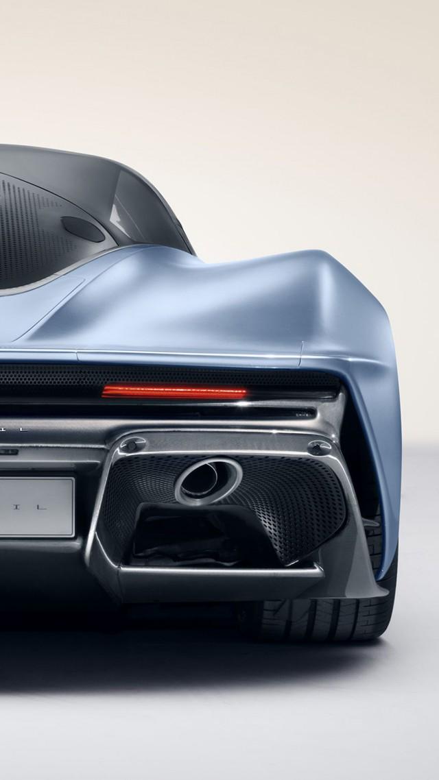 Wallpaper McLaren Speedtail supercar electric cars 4K Cars 640x1138