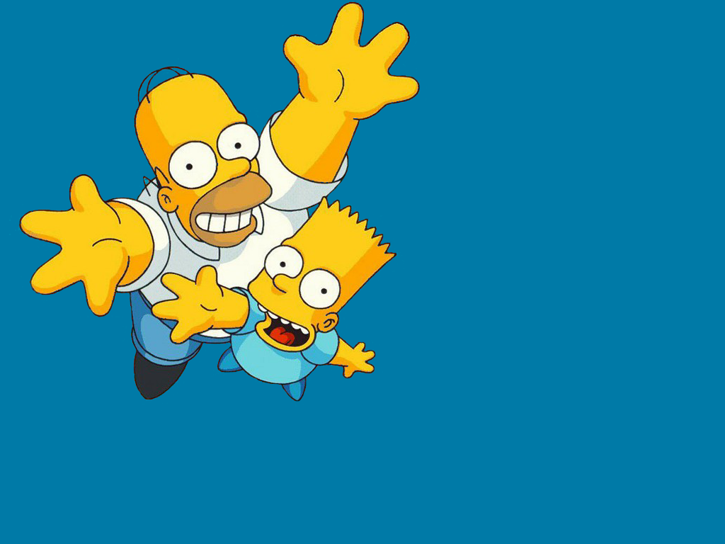 Simpsons Background Wallpapers WIN10 THEMES 1024x768