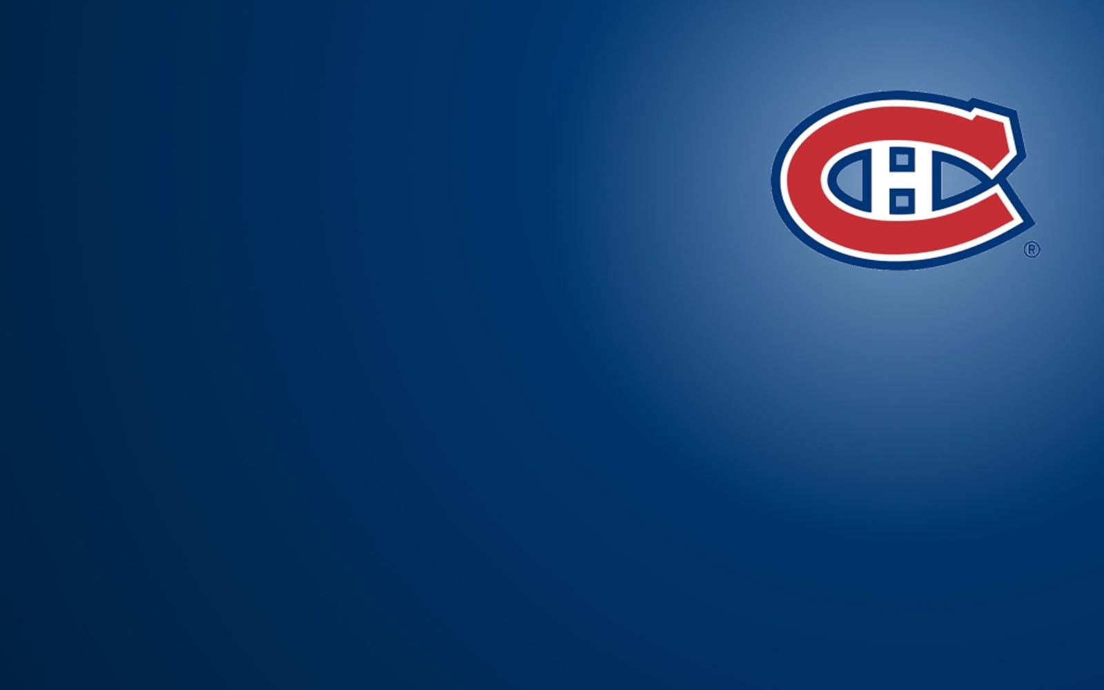 Montreal Canadiens logo 3d Wallpaper 1600x1000