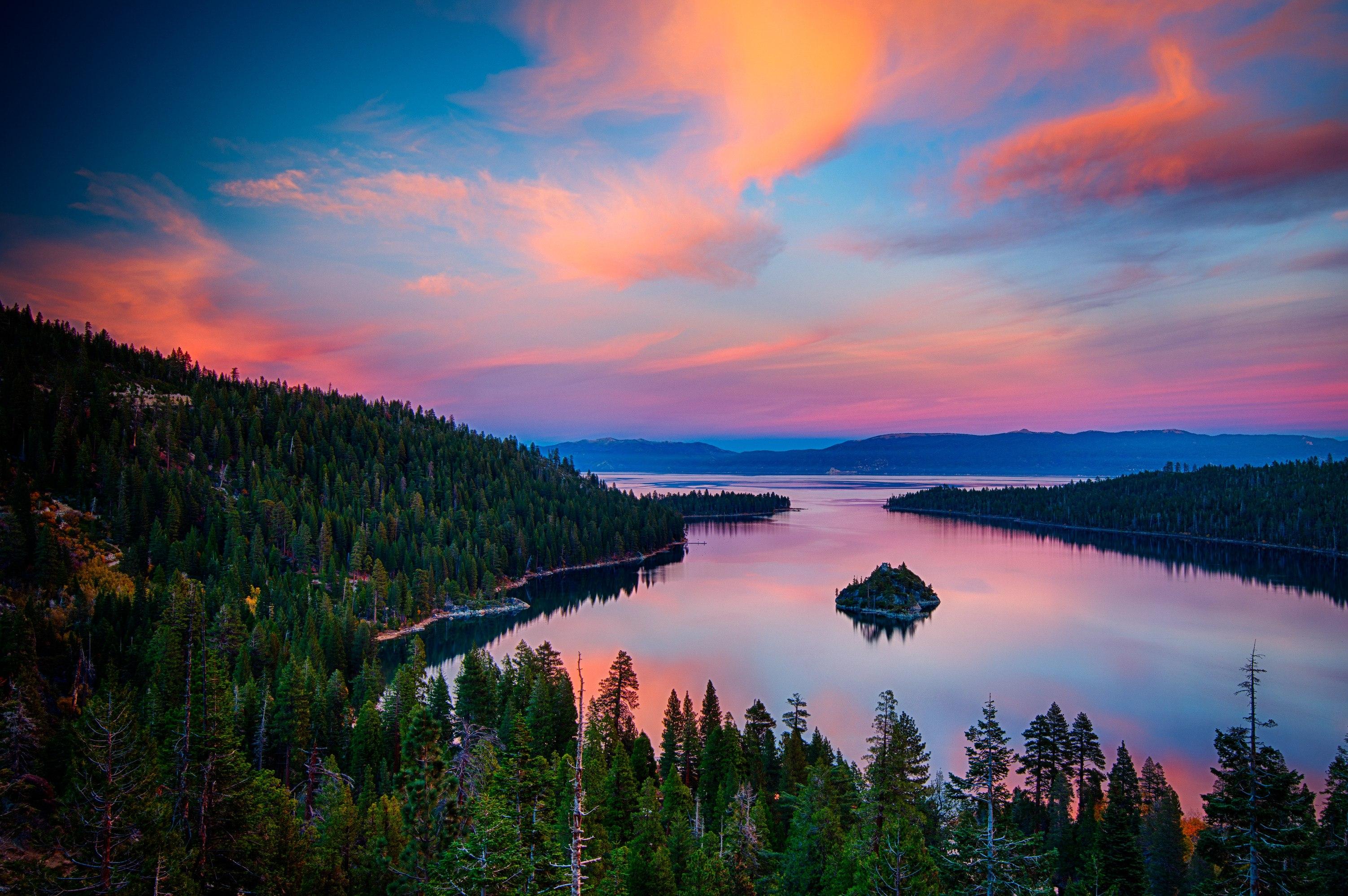 26 Landscape HD Emerald Bay Lake Tahoe Wallpapers 3005x1997