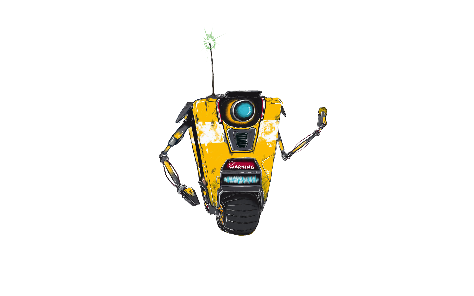 Borderlands wallpaper spectium claptrap japong   1142486 1920x1200