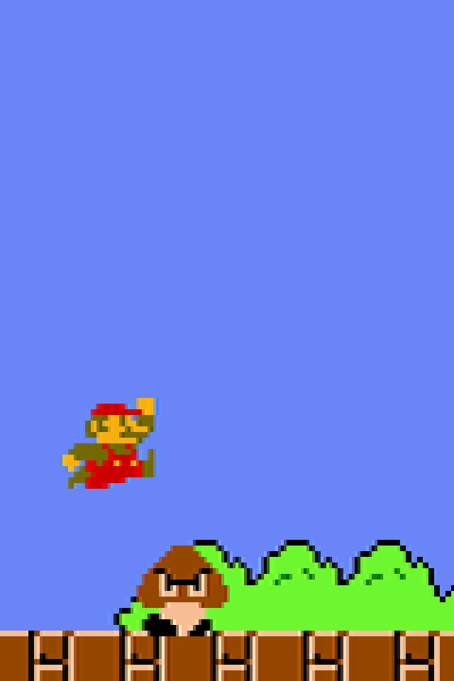 Wallpaper mario bros super iphone ready this   4913 iPhone 640x960