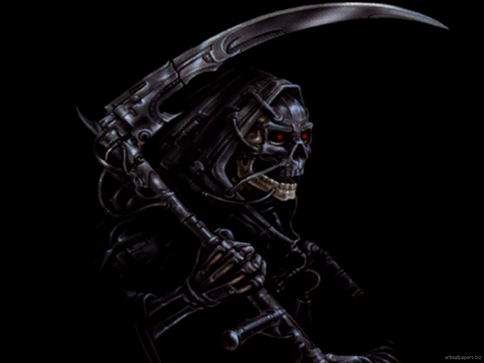 Badass Skull Wallpaper - WallpaperSafari