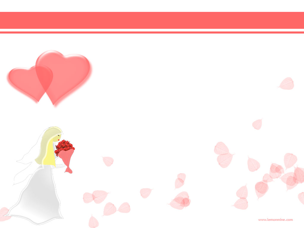 Wedding PowerPoint Background Pictures and Wedding Templates to 1024x768