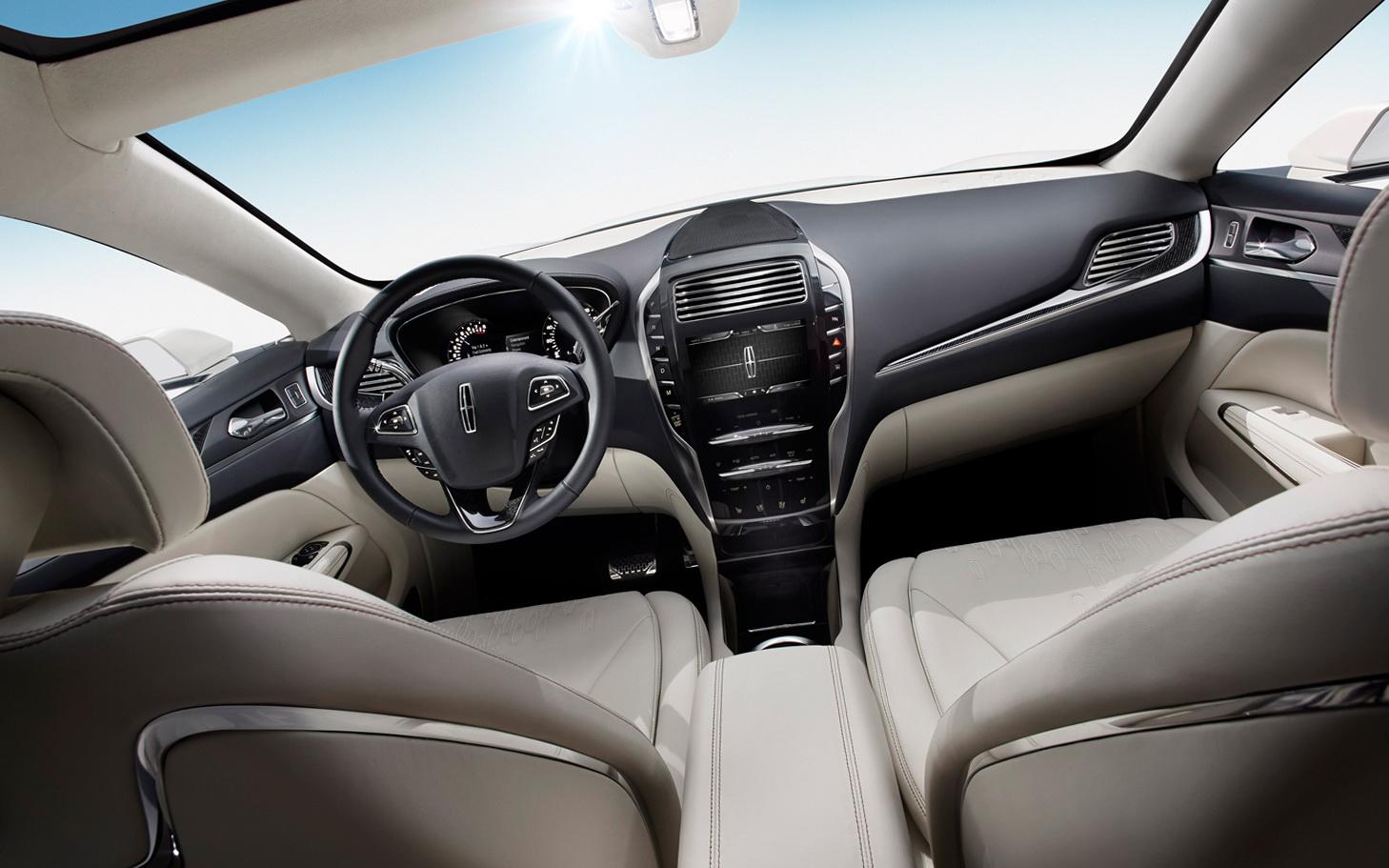 2015 Lincoln MKC SUV Front Design Wallpaper Automotive Designs 1458x911