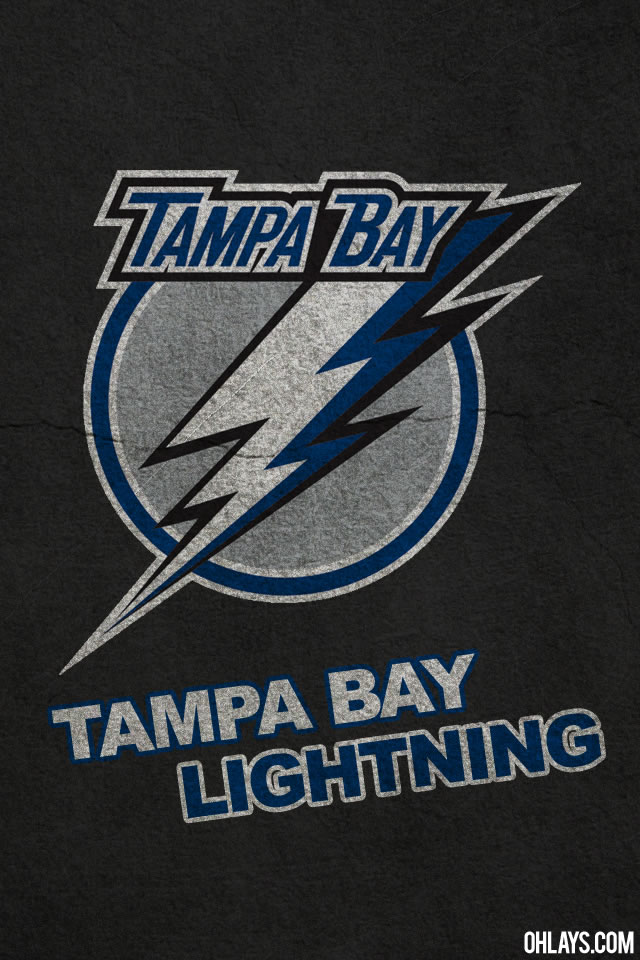 Tampa Bay Lightning iPhone Wallpaper 640x960