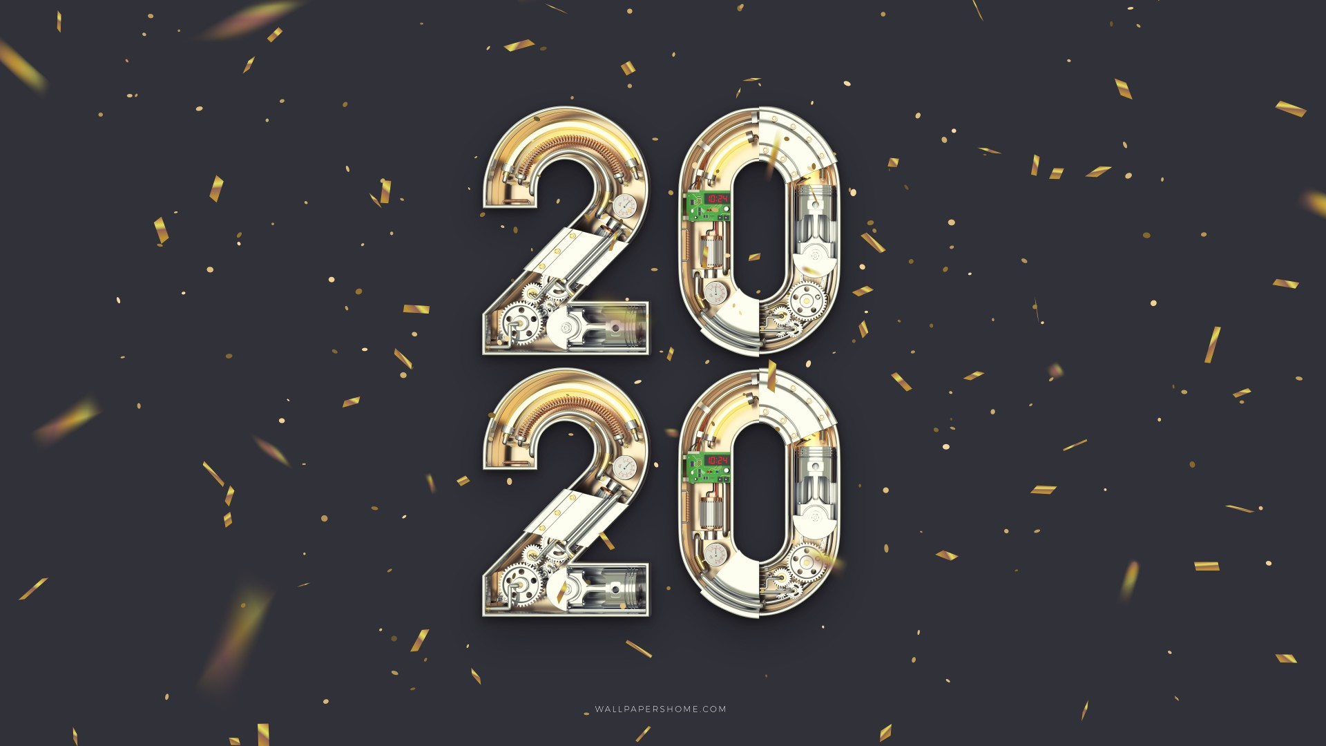 Wallpaper New Year 2020 Christmas poster 8k Holidays 20910 1920x1080