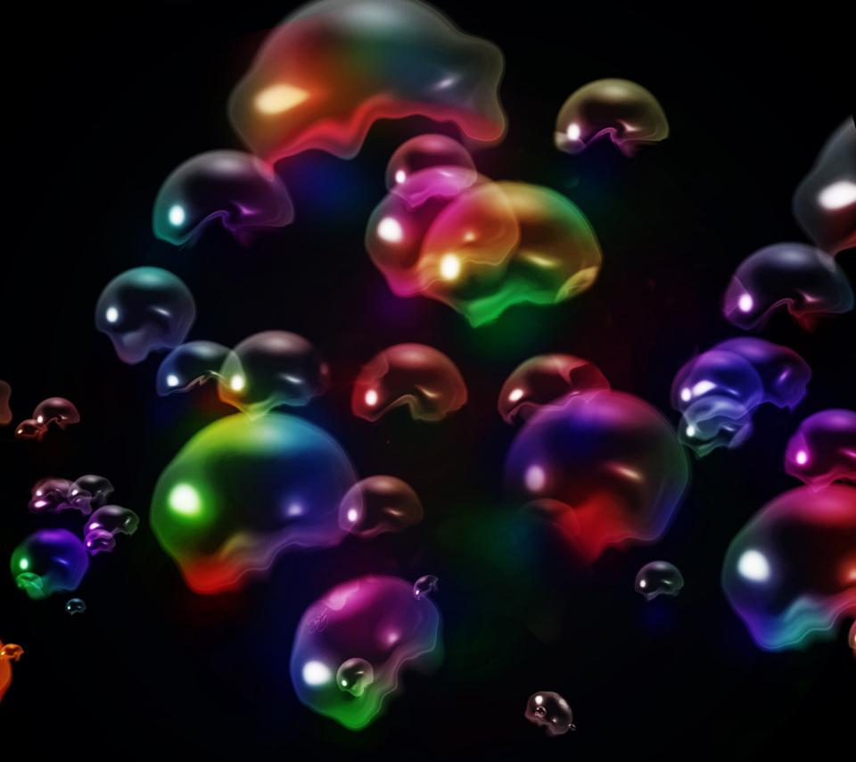 Colorful Bubbles Wallpaper Colorful bubbles 960x854