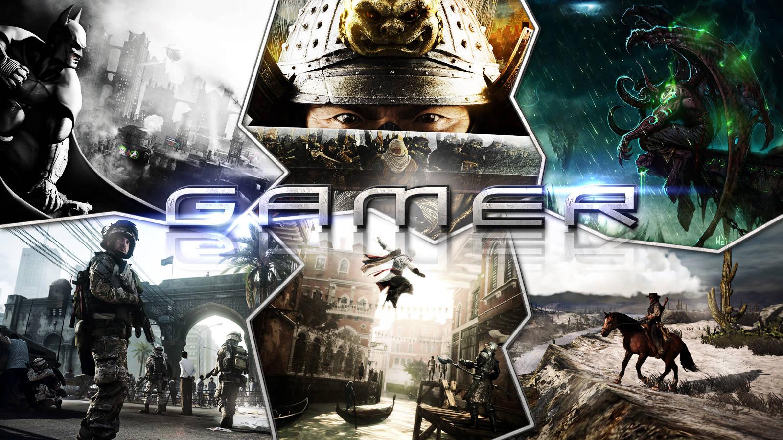 Gamer Wallpaper by Gabriel Ferrari 1600x900