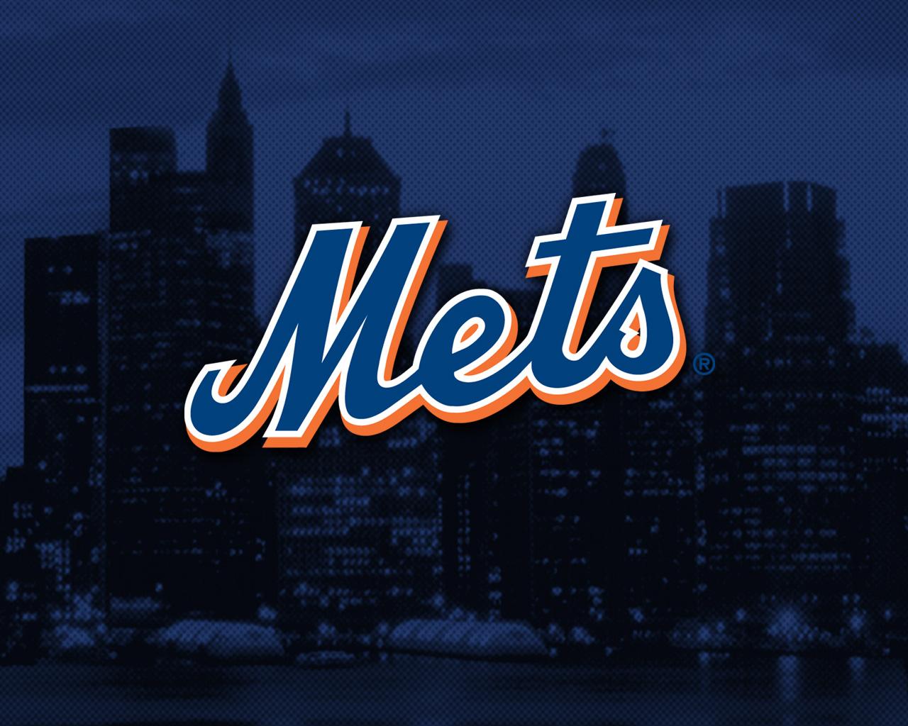New York Mets Wallpaper: NY Mets Logo Wallpaper