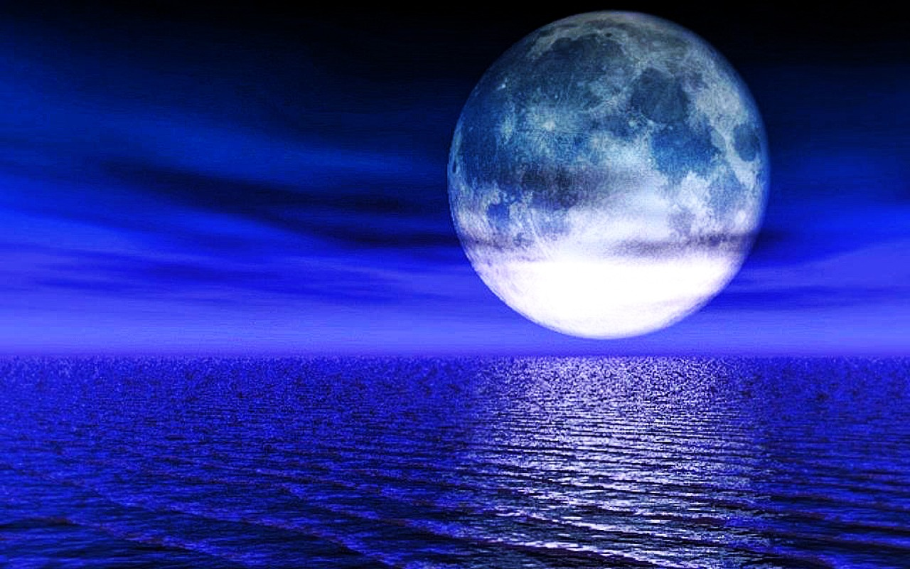 blue moon wallpaper desktop wallpapersafari