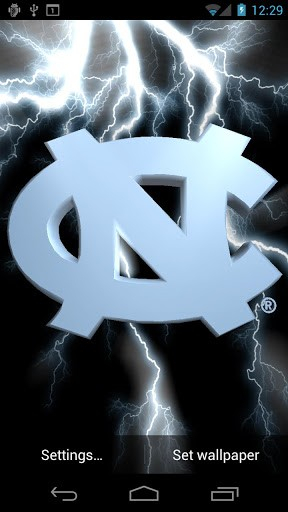 UNC Tar Heels Live WPs Tone App for Android 288x512