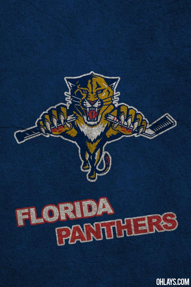 Florida Panthers iPhone Wallpaper 1159 ohLays 640x960