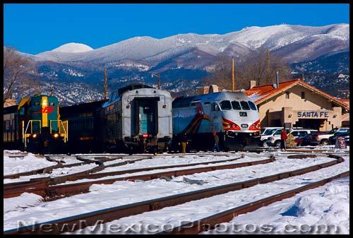 New Mexico PhotoJournal Santa Fe Depot 500x337